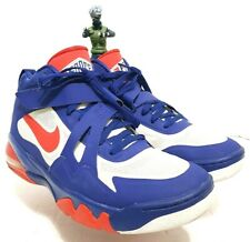 """NIKE Air Force Max CB 2 HYP Barkley Men""""s Red White Blue Sz 12 Shoes 616761 400"""