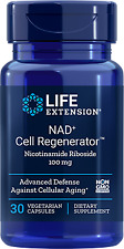 NAD+ Life Extension cell Regenerator Nicotinamide Riboside NIAGEN 100mg