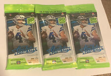 Panini NFL 2020 Absolute Football 20 Card Value Pack - Lot of 3