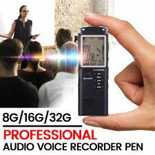 Diktiergerät USB 8GB Digital Audio Voice Recorder Aufnahmegerät Sprachaufnahme .
