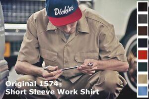 Dickies 1574 Short Sleeve Work Shirt Hemd Arbeitshemd kurzarm