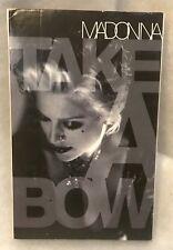 Vintage Madonna - Take A Bow - Cassette Single Tape