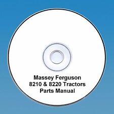 Cd massey ferguson tractor manuals publications ebay massey ferguson mf 8210 8220 tractors parts manual fandeluxe Gallery