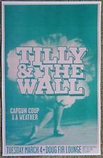 Tilly And The Wall 2008 Gig Poster Portland Oregon Concert