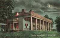 Postcard Washington Home Mount Vernon Virginia