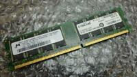 1GB Crucial CT12864Z335.16TFY PC2700U 333MHz DDR1 Non-Ecc Ordinateur Mémoire RAM