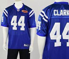 Men s 52 NFL  44 Clark Jersey Equipment Reebok On Field Colts Super Bowl  XLIV 936ae1ec3