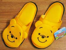 Winnie the Pooh Yellow Slippers Shoes Disney Women US 5-9, UK 3-7, EU 34-40 #C