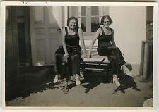 PHOTO ANCIENNE - FEMME MODE ÉLÉGANCE GAY - WOMAN FASHION - Vintage Snapshot