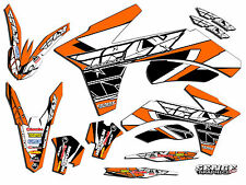 FITS KTM 1998 1999 2000 2001 2002 MXC 200 250 300 380 GRAPHICS KIT DECO DECALS