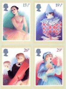 Num 59 PHQ CARDS MINT FULL SET 1982 BRITISH THEATRE PACK 59 MINT