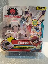 Mattel MECARD MIRINAE Deluxe Action Battle Game Transforms with Card NIP