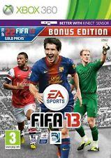 FIFA 13 Bonus Edition XBOX 360 Video Game Original UK Release Mint Condition