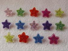 DRESS IT UP Boutons ~ paillettes étoiles ~ Bouton fun - 2243 ~ Party Time
