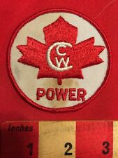 CWC POWER PATCH CANADA MAPLE LEAF - UNKNOWN IF CUMMINS WESTERN CANADA OR.. BIN:B