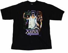 """Vintage Xena The Warrior Princess """"Wedding"""" T-Shirt Sci Fi Fantasy Buffy Y2K"""
