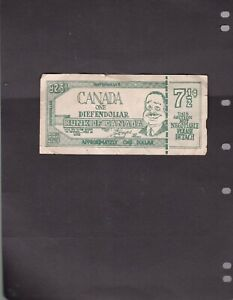 One Diefendollar - Bunk of Canada - Approximately One Dollar - not money FAULTY