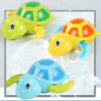 Swimming Turtle Wind Up Floating Water Baby Bathing Toy Child Bathtub Fun Gift