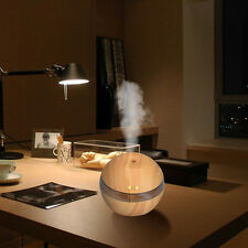 Air Aroma Essential Oil Diffuser LED Ultrasonic Aroma Aromatherapy Humidifier BW