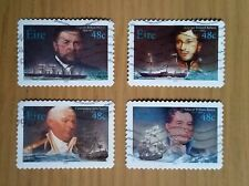 Complete Eire / Ireland used stamp set: 2003 Irish Marine Officers