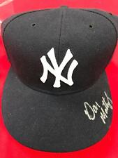 DON MATTINGLY Autograph Hat Cap New York Yankees Fleer MLB Authentic (SC8)