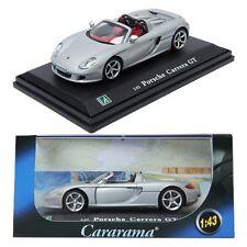 CARARAMAKOREA Porsche Carrera GT Convertible / silver / 1:43 / Children / TOY