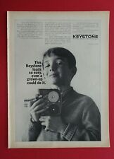 1964 Keystone Load-A-Matic Movie Camera AD