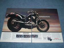 1988 Honda Shadow VLK 800 1100 & Magna Vintage 2pg Motorcycle Ad