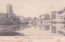 PADOVA - Il Bacchiglione e Ponte Molino - Torre Galileo