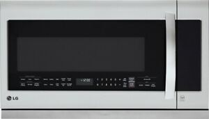 FACTORY SEALED NEW - LG 2.2 cu. ft Over-the-Range Microwave Oven with Easy Clean