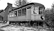 Southern New York Railway (SNY) Car #93 Black & White Print