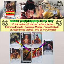 LEGEND OF THE FIVE RINGS L5R LCG -2020 TEMPORADA 1 OP KIT ESPAÑOL 7 cartas promo