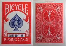 CARTE DA GIOCO BICYCLE ELITE EDITION,poker size,red back