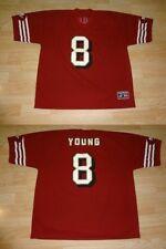 Men's San Francisco 49ers Steve Young XL Logo Athletic Jersey