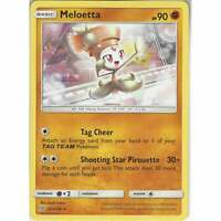 123/236 Meloetta | Rare Card | Pokemon Trading Card Game Unified Minds TCG SM-11