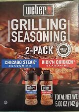 Weber 2-pack Grilling Seasoning for   Grilling and Cooking  BBQ   Seasonings