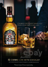 Chivas Regal print ad Oct 2013 Live with Chivalry