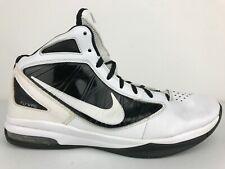Nike Zoom Hyperdunk 2011 TB Basketball Shoes Mens Size 11 Flywire White/Black