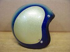 Vintage Shoei Helmet Gasser Hot Rat Rod Chopper Bobber Motorcycle Metal Flake