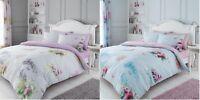 Luxury Madeline Duvet Set Pillow Cases 3PCs Floral Duvet/Quilt Cover Set Bed Set
