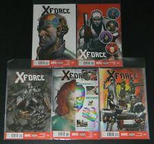 Marvel Comics X-Force 10 11 12 13 14  NM FREE SHIPPING