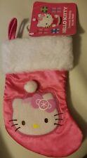 Hello Kitty  PINK MINI CHRISTMAS STOCKING FREE USA SHIPPING