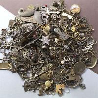 50g Bulk Tibetan Silver Mix Charm Pendants Necklace Jewelry Making DIY Craft