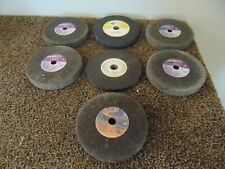 "Grinding Wheels - QTY: 6 - 6"" x 1"" x 5/8"" + QTY: 1 - 6"" x 1/2"" x 5/8"" (7 Wheels)"