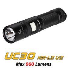 Torcia Compatta LED FENIX UC30 Pocket 960 Lumens USB Ricaricabile
