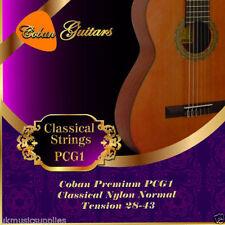 Cordes nylon pour guitare et basse