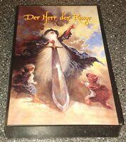 Der Herr Der Ringe - VHS - PAL - Warner Brothers -1998 - Trickfilm
