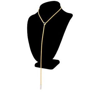 Roberto Coin 18k White Yellow Gold Lariat Chain Necklace 24' 16.8GR Please Read!