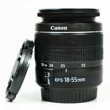 Canon EFS 18-55mm III F3.5-5.6 lens for Canon DSLR