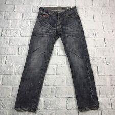 Sabit 32X32 Straight Leg Jeans 100% Cotton Dark Denim